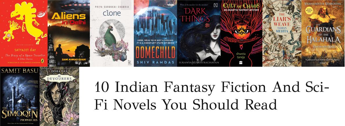 Indian fantasy fiction sci fi