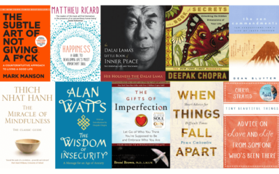 10 Self-Help Books To Help You Find Inner Peace