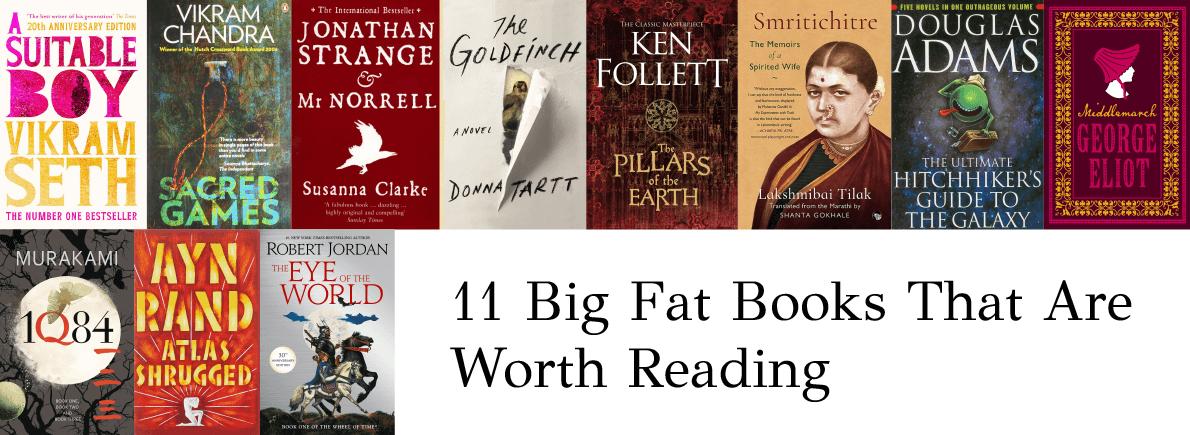 big fat books