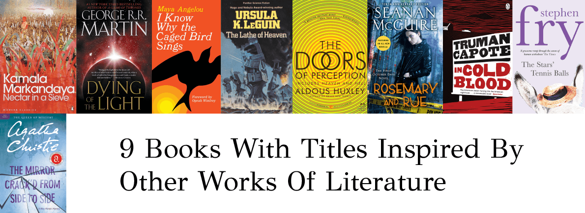 books titles inspired by works of literature