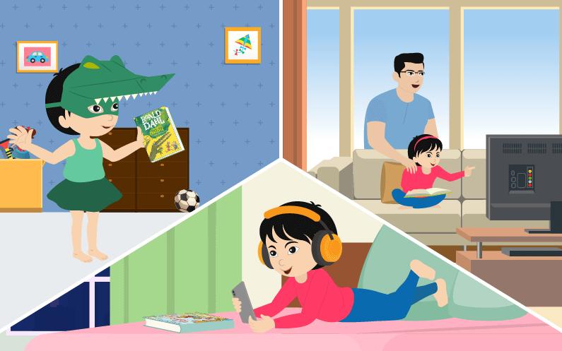 child's reading habits