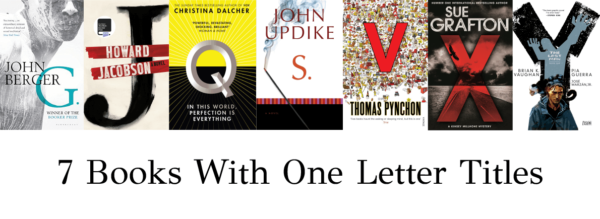 books with one letter titles